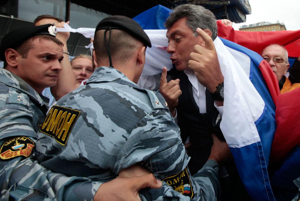 Rosyjski polityk Borys Niemcow