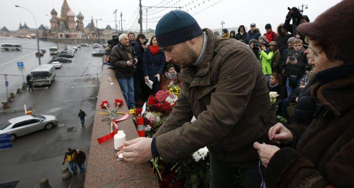 Miejsce zabójstwa Borysa Niemcowa