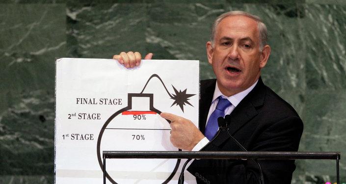 Binjamin Netanjahu, premier Izraela