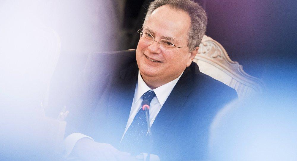Szef MSZ Grecji Nikos Kodzias