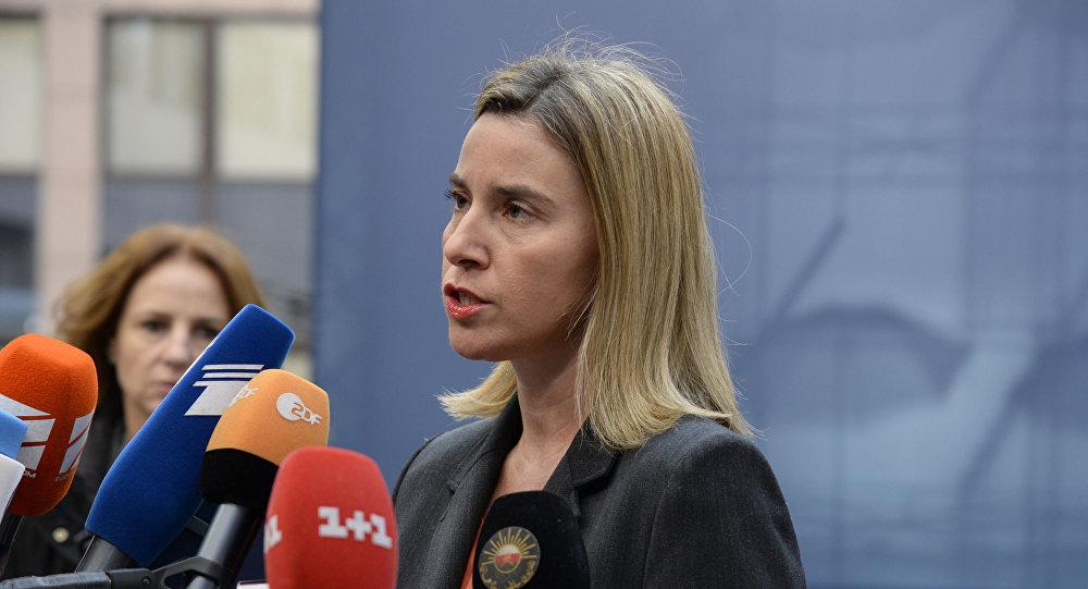 Wysoki przedstawiciel Unii do spraw zagranicznych i polityki bezpieczeństwa Federica Mogherini