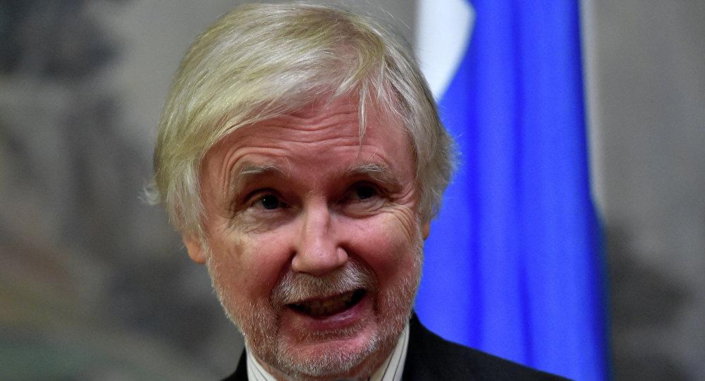 Minister spraw zagranicznych Finlandii Erkki Tuomioja