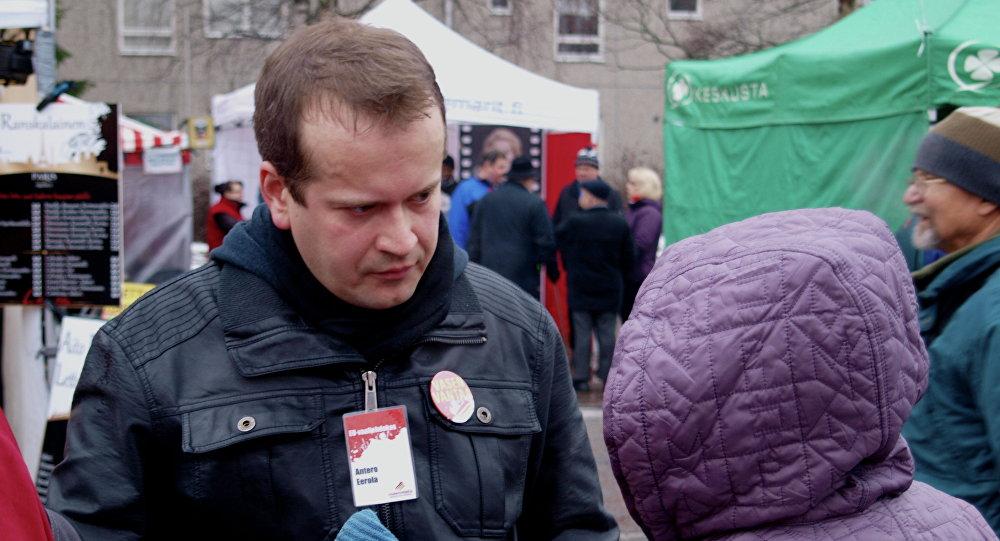 Fiński dziennikarz Antero Eerola