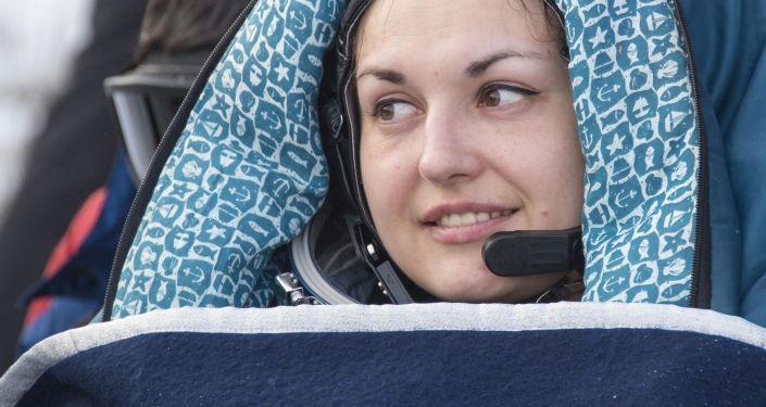 Pierwsza w historii współczesnej Rosji kosmonautka Serowa wróciła na Ziemię