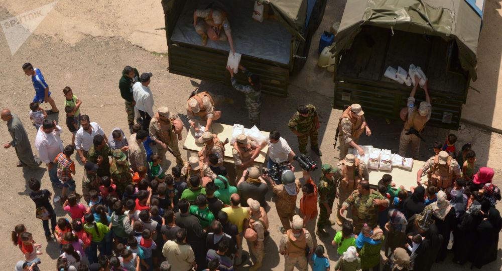 Pomóc humanitarna dla uchodźców, Syria
