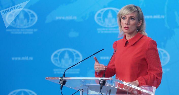 Briefing rzeczniczki Ministerstwa Spraw Zagranicznych Rosji Marii Zacharowej