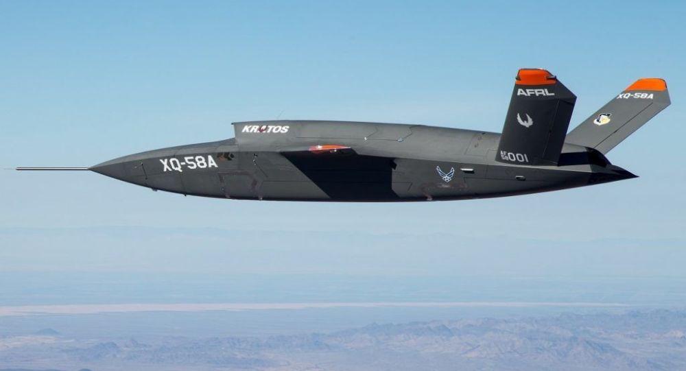Testy lotnicze drona nowej generacji Kratos XQ-58A Valkyrie