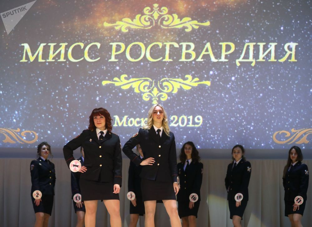 "Konkurs ""Miss Rosgwardii Moskwa – 2019"""