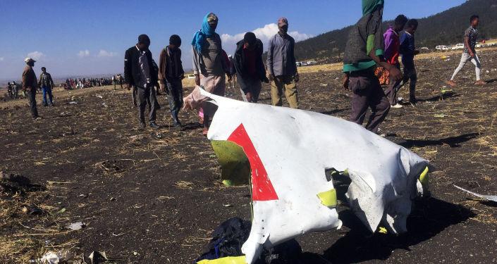 Miejsce katastrofy Boeinga linii Ethiopian Airlines, Etiopia