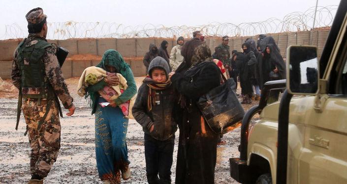 Obóz dla uchodźców Rukban na syryjsko-jordańskiej granicy