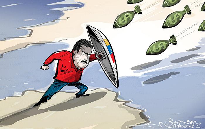 Dolary atakują Wenezuelę
