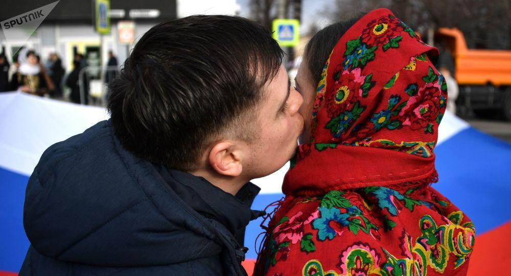 Obchody 5-lecia połączenia Krymu z Rosją