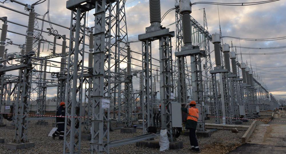 Budowa mostu energetycznego przez cieśninę Kerczeńską