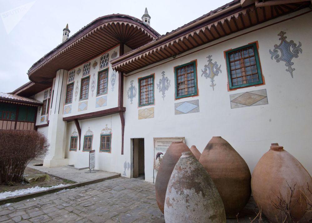 Pałac chanów krymskich w Bachczysaraju