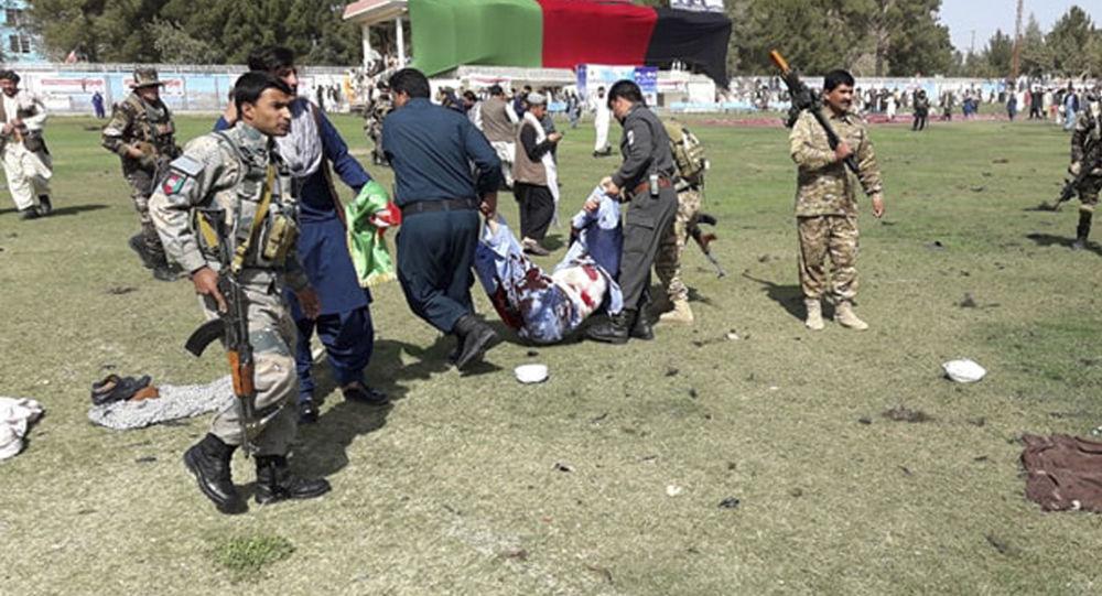 Ranni w eksplozjach na stadionie w Afganistanie podczas obchodów narodowego Dnia Rolnika.
