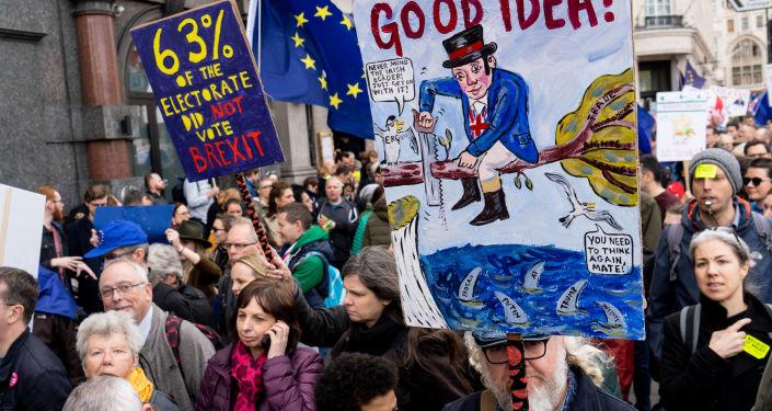 Marsz w sprawie nowego referendum o brexit, Londyn