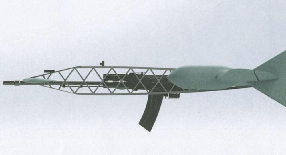 Projekt drona przechwytującego rosyjskiego koncernu Almaz-Antej