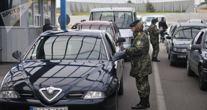 Weryfikacja dokumentów w punkcie kontrolnym obwodu lwowskiego Ukrainy