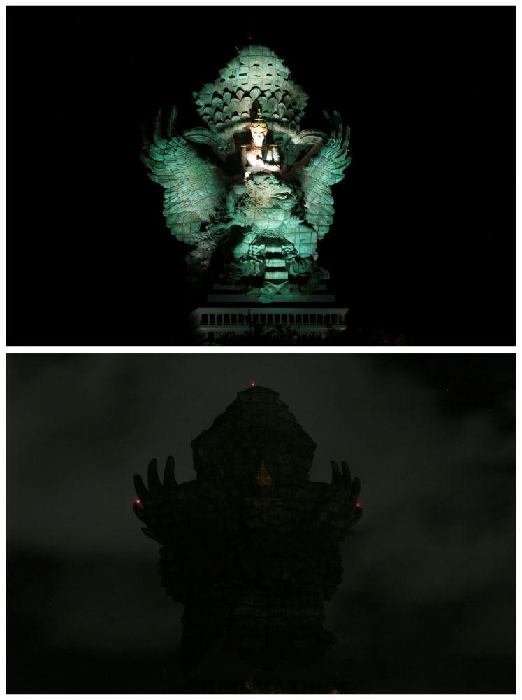 """""""Godzina dla Ziemi"""" w Indonezji."""