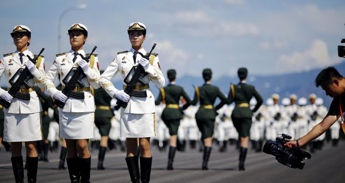 Parada wojskowa w Pekinie