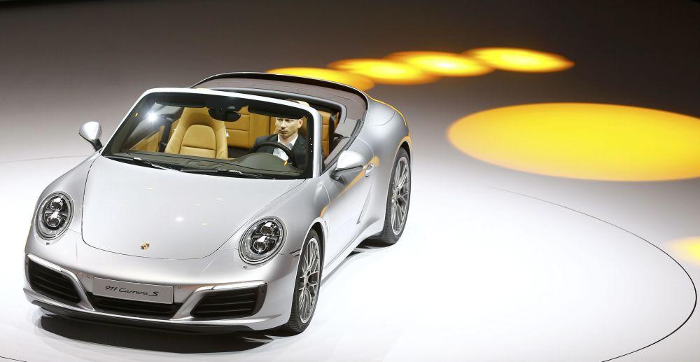 Porsche 911 Carrera S w ramach Volkswagen Group Night we Frankfurcie nad Menem