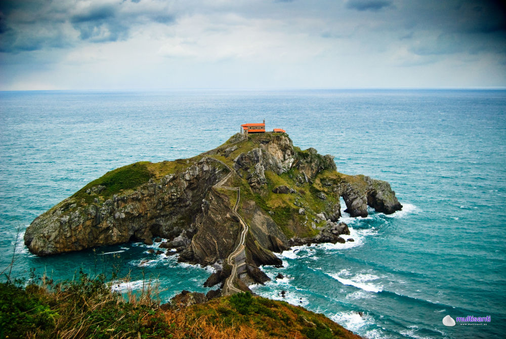 San Juan de Gaztelugatxe – skalista wyspa w Zatoce Biskajskiej