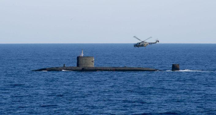 Brytyjski okręt podwodny z napędem atomowym HMS Talent