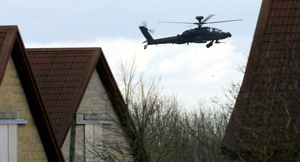 Helikopter szturmowy Apache Brytyjskich Sił Powietrznych