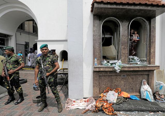 Zamachy na Sri Lance