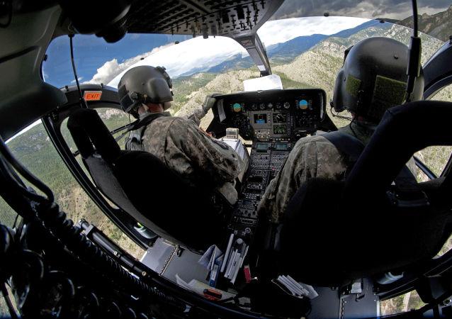 Piloci amerykańskich sił powietrznych. Zdjęcie archiwalne