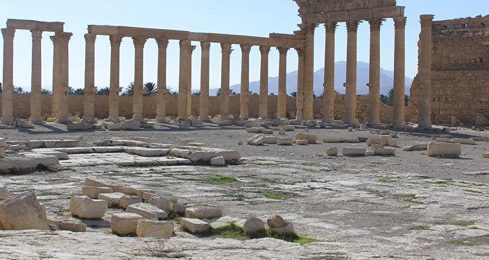 Ruiny starożytnej Palmiry