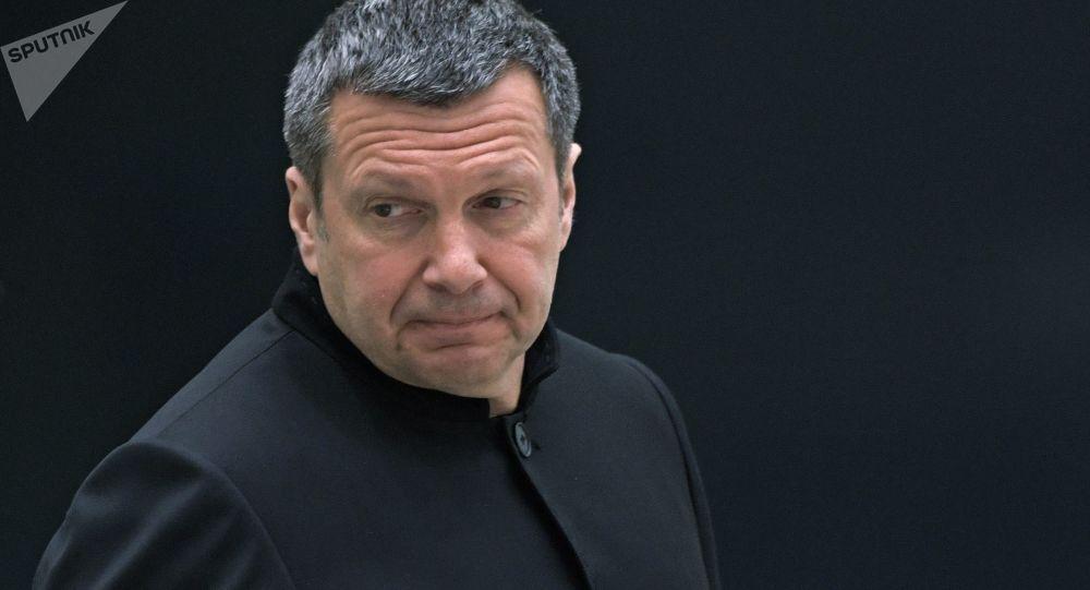 Dziennikarz, gospodarz telewizyjny i radiowy Vladimir Solovyov