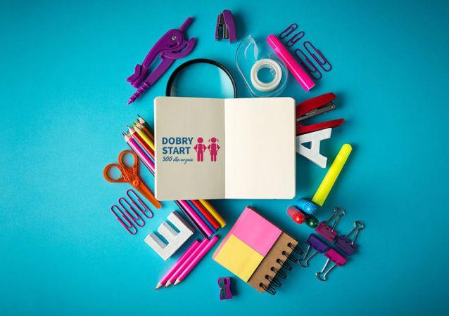 Logo programu startowego Dobry Start