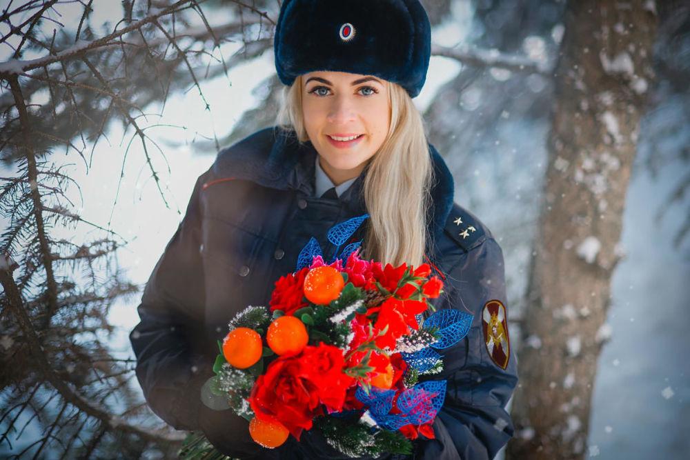 Starszy lejtnant policji Swietłana Farafonowa z Saratowa