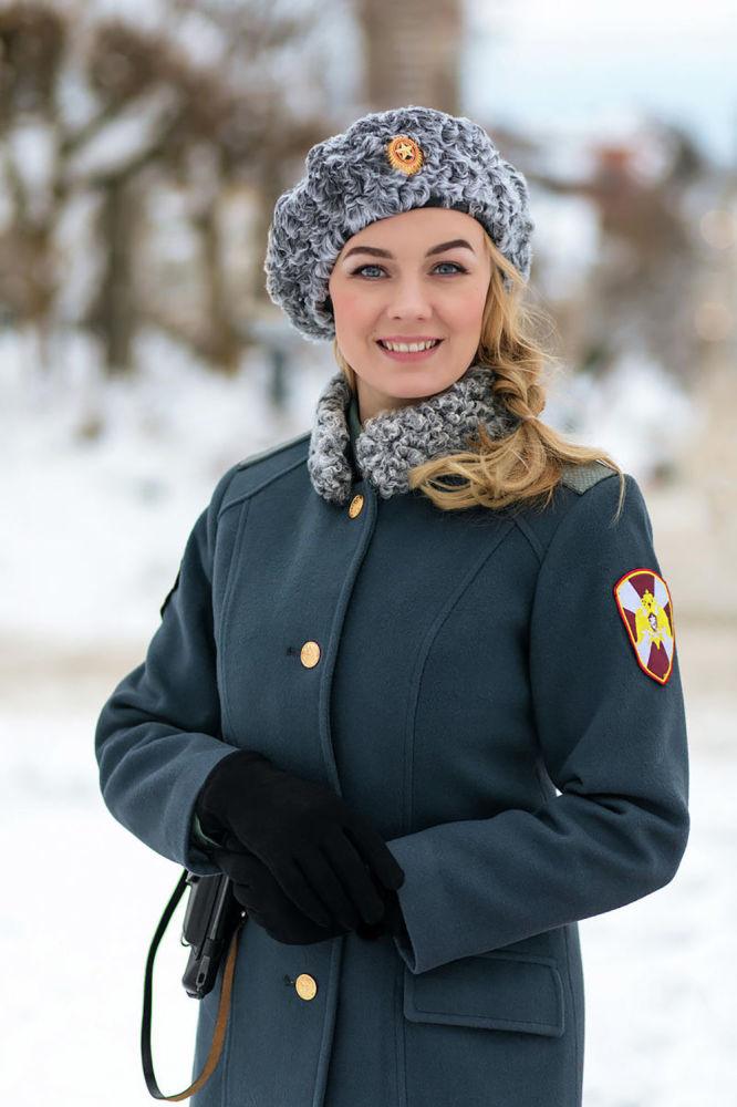 Kapral Anna Piskun z Kirowa