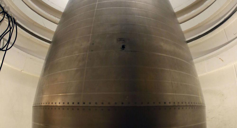 Amerykański pocisk balistyczny z głowicami jądrowymi Minuteman III
