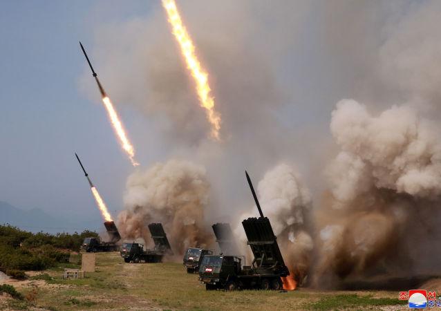 Ćwiczenia wojskowe w Korei Północnej