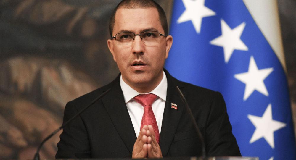 Szef wenezuelsiego Ministerstwa Spraw Zagranicznych Jorge Arreaza