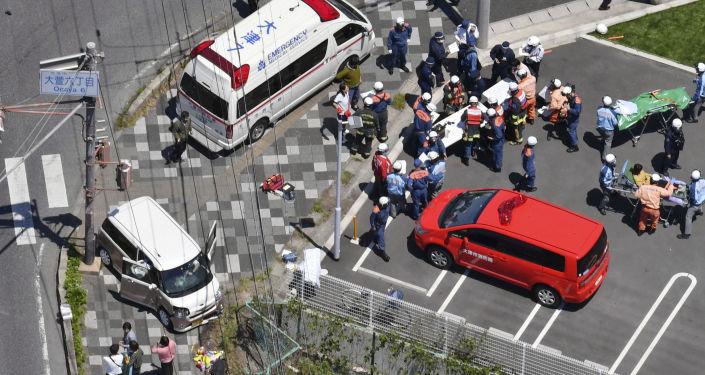 W Japonii samochód wjechał w grupę przedszkolaków