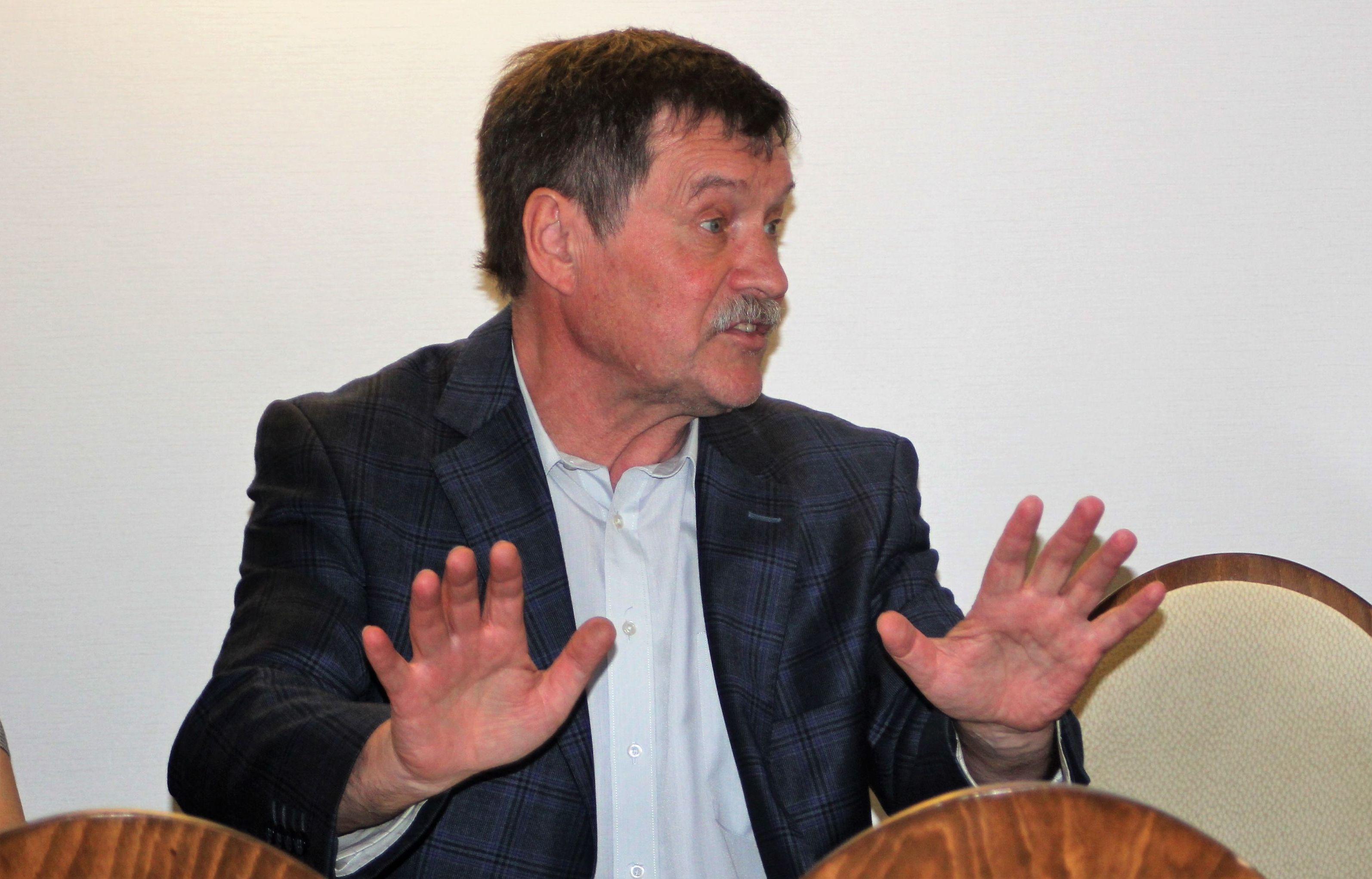Rosyjski dyplomata Jury Rożkow