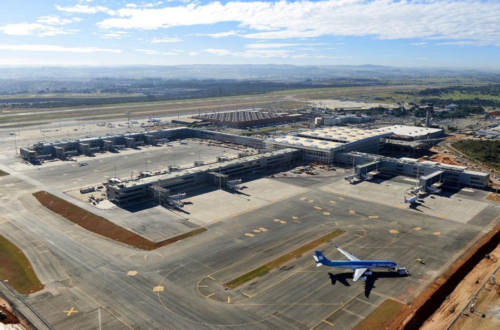 Port lotniczy Campinas-Viracopos w Brazylii