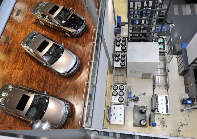 Samochody Volkswagen Phaeton, Drezno