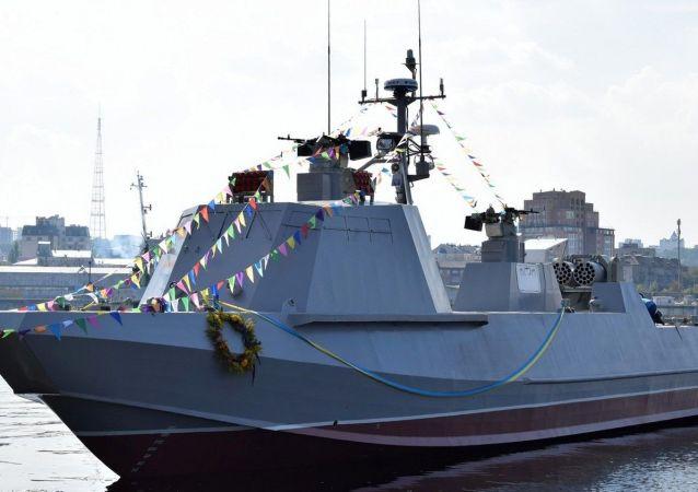 """Desantowo-szturmowy kuter projeku """"Centaur"""" ukraińskiej marynarki szturmowej"""