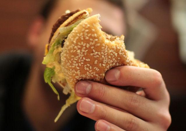 McDonald's. Zdjęcie archiwalne