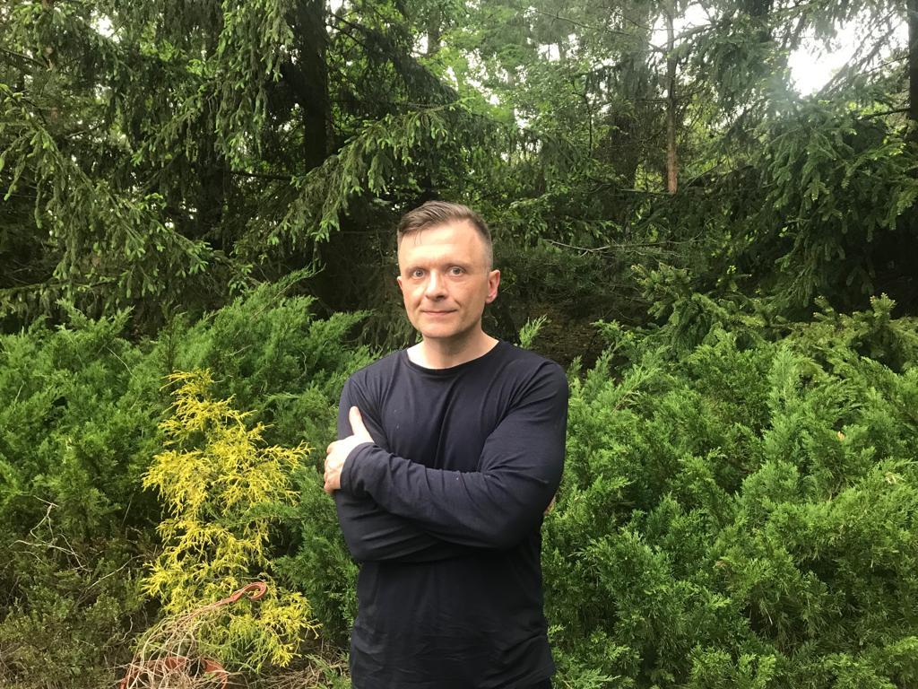 Polski polityk i politolog Mateusz Piskorski. Warszawa. 20 maja 2019 roku.