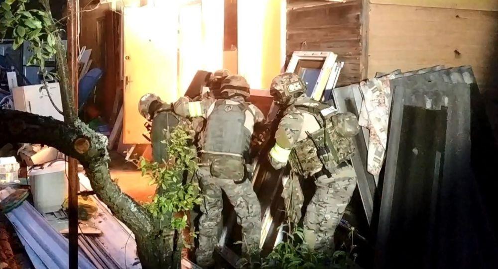 Operacja antyterrorystyczna w mieście Kolczugino w obwodzie włodzimierskim