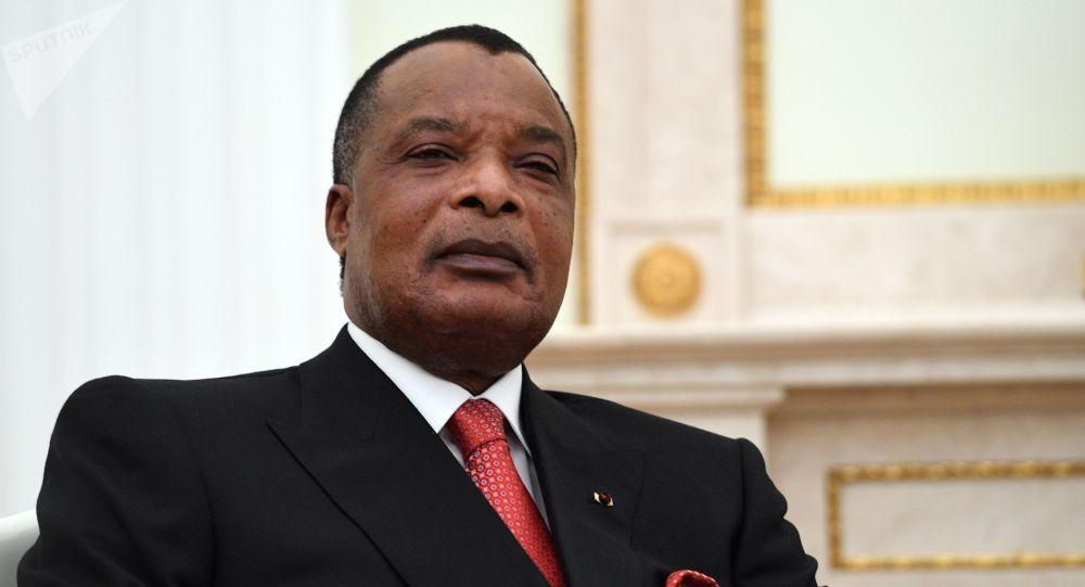 Prezydent Republiki Konga Denis Sassou-Nguesso