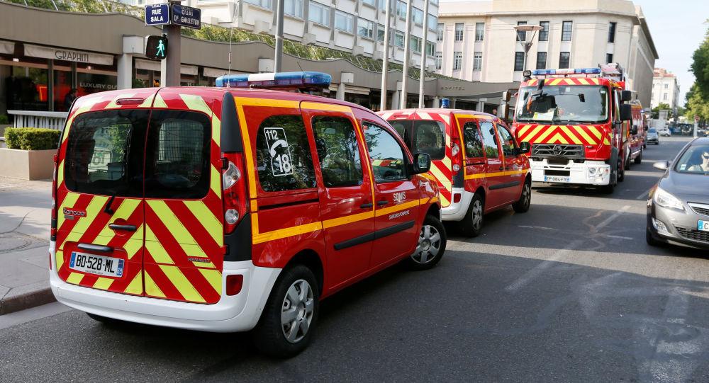 Wybuch w Lyonie