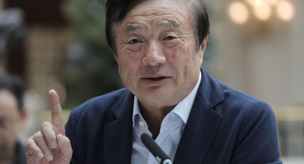 Założyciel chińskiej firmy Huawei Ren Zhengfei