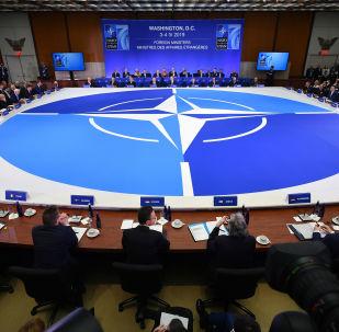 Posiedzenie ministrów spraw zagranicznych państw członkowskich NATO w Waszyngtonie